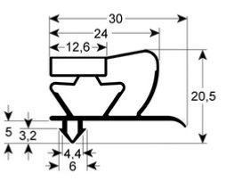 changement des joints de meuble froid. Black Bedroom Furniture Sets. Home Design Ideas