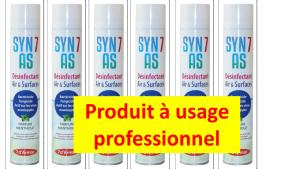 SPRAY SYN7AS désinfectant 750ml PULVERISATEUR  X6